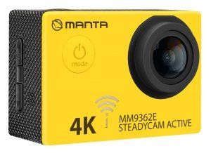 MM9362E Kamera Sportowa ze stabilizacją obrazu STEADYCAM ACTIVE