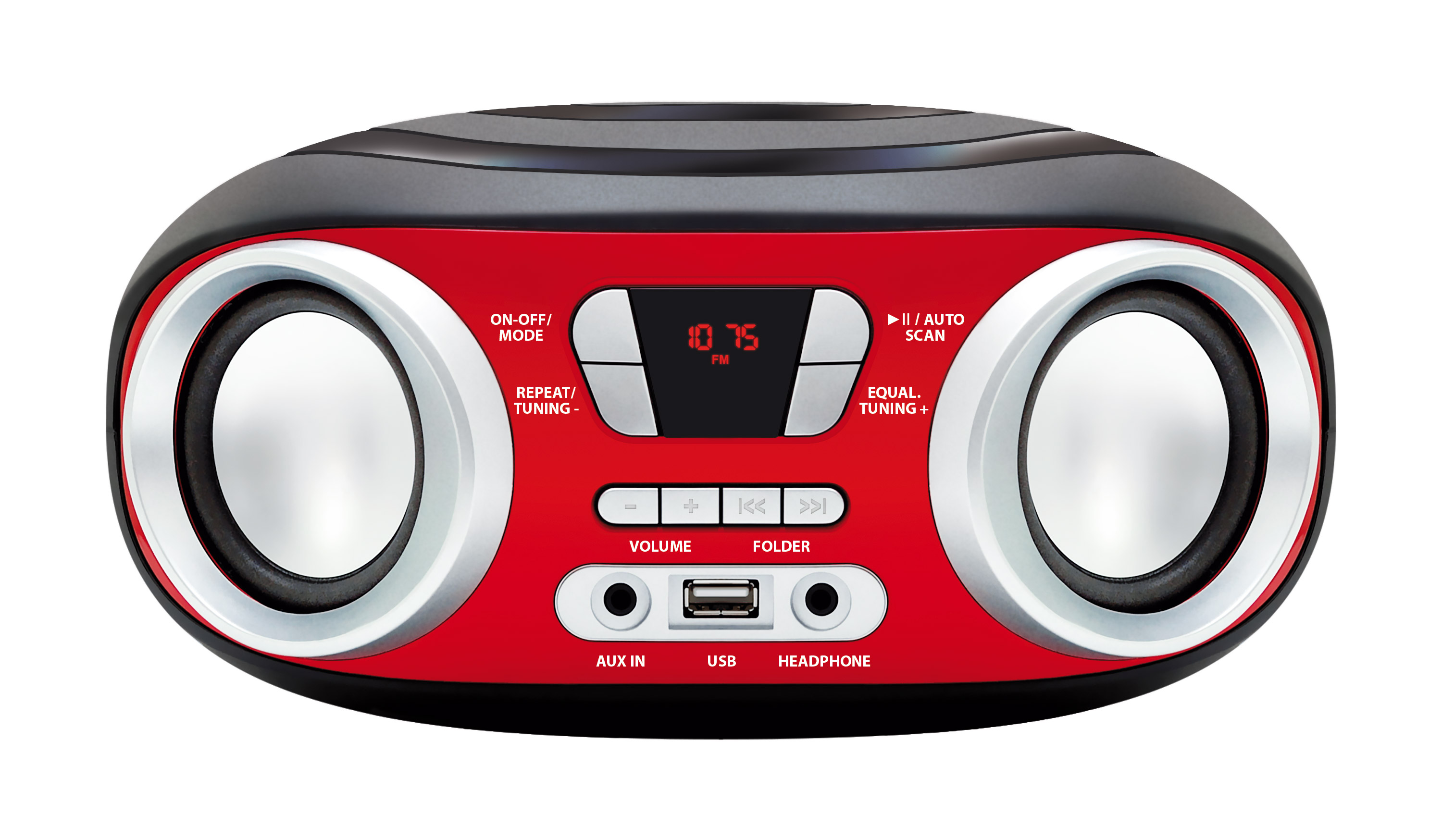 MM210 CHILLI BoomBox z MP3