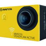 MM9259 Kamera Sportowa/Internetowa ze stabilizacją obrazu STEADYCAM ACTIVE
