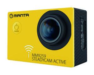 MM9259 Kamera Sportowa ze stabilizacją obrazu STEADYCAM ACTIVE