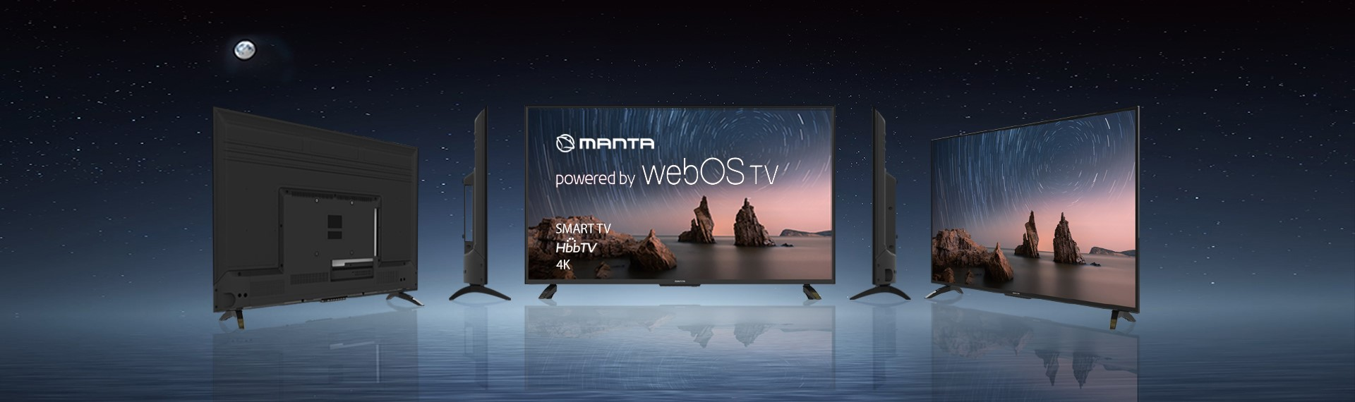 Manta WebOS TV model 43LUW121D DVB-T2/HEVC HbbTV