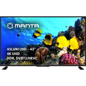 43LUN120D Telewizor 43'' 4K UHD DVB-T2 HEVC/265